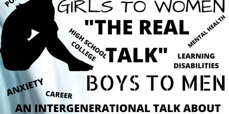 The Real Talk: Girls to Women and Boys to Men tickets