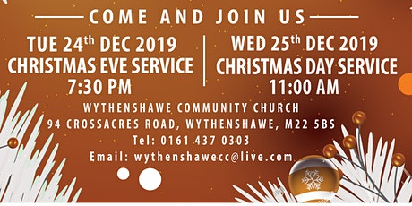 WCC Christmas Eve Service tickets