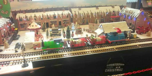 Christmas Model Railway (Leyland) #xmasfun