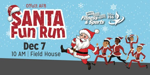 Offutt Santa Fun Run 2019