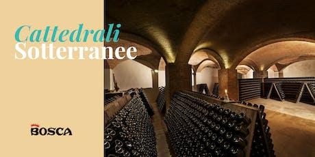 Tour in English - Bosca Underground Cathedral on First December 19 at 11:15 biglietti
