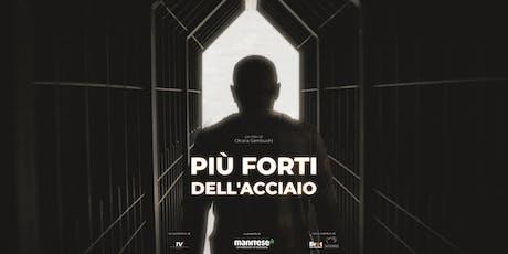 """""""PIÙ FORTI DELL'ACCIAIO"""" - Il docufilm di Mani Tese a Taranto biglietti"""