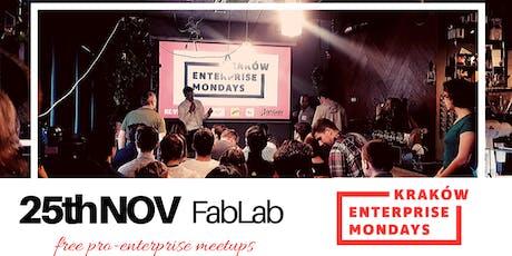 Kraków Enterprise Mondays #26 tickets