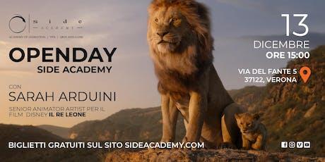 Side Academy Openday 13 dicembre ore 15:00 biglietti