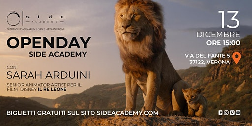 Side Academy Openday 13 dicembre ore 15:00