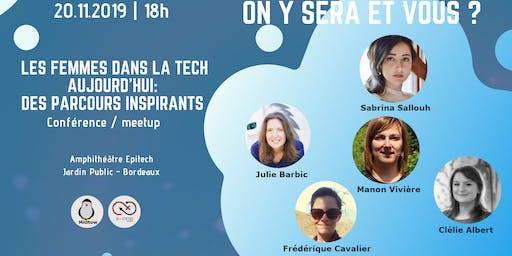 Les femmes dans la tech aujourd'hui : des parcours inspirants
