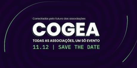 COGEA apresenta: Conectados Pelo Futuro das Associações. bilhetes