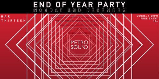 Metro Sound End of Year Party