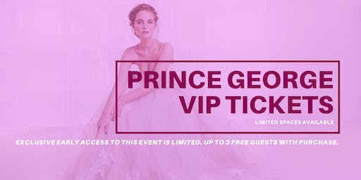 Opportunity Bridal VIP Early Access Prince George Pop Up Wedding Dress Sale