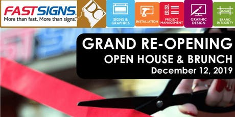 FASTSIGNS DC - GRAND RE-OPENING Networking Brunch tickets