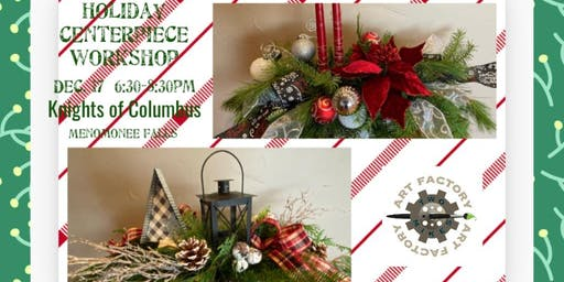 Holiday Winter Greens Centerpiece Workshop