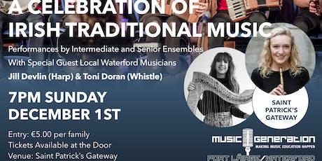 A Celebration of Irish Traditional Music tickets