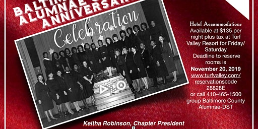 35th Baltimore County Alumnae Chapter Anniversary Gala