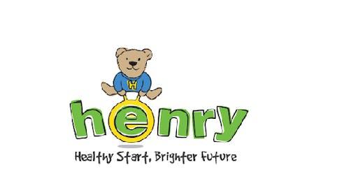 Henry workshop (10 weeks - 14 January to 17 March 2020) Basingstoke