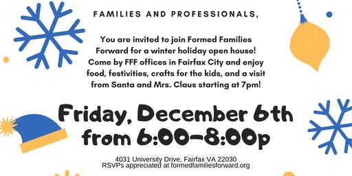 FFF Family Winter Holiday Open House