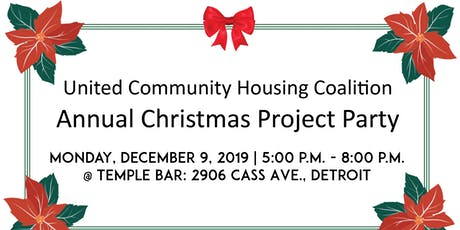 United Community Housing Coalition | Annual Christmas Party Project tickets