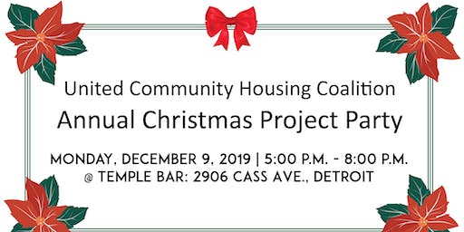 United Community Housing Coalition | Annual Christmas Party Project