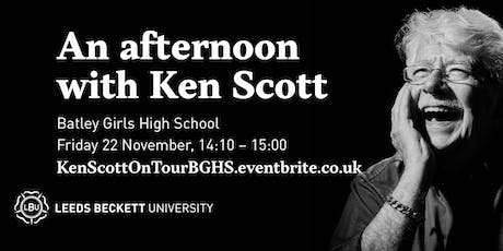 An afternoon with Ken Scott - recording engineer and producer tickets