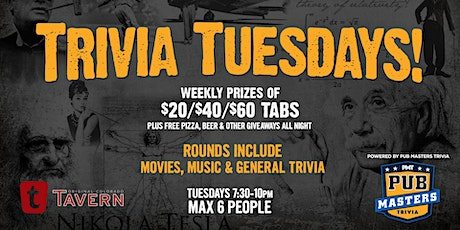 Pub Masters Trivia LIVE at Tavern Platt Park! tickets