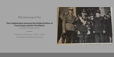 Collaboration between Political Police of Fascist Italy & the Third Reich tickets