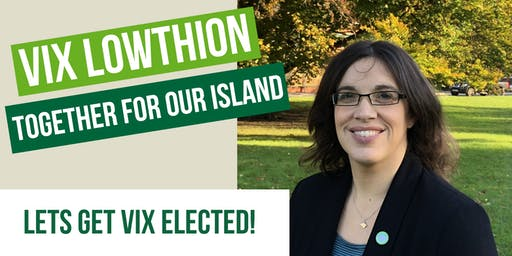 Get Vix Elected - COWES ACTION DAY 30/11