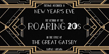 Return of the Roaring 20s: A Gatsby New Years Eve tickets
