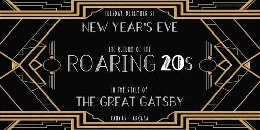 Return of the Roaring 20s: A Gatsby New Years Eve