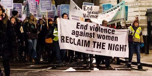 Reclaim the Night March Inverness