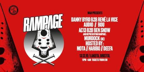WAH x Wide Eyes: Rampage UK Tour | Bristol tickets