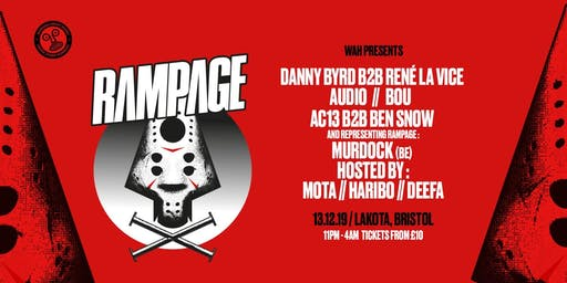 WAH x Wide Eyes: Rampage UK Tour | Bristol