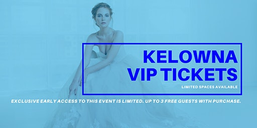 Opportunity Bridal VIP Early Access Kelowna Pop Up Wedding Dress Sale