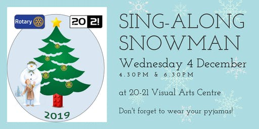 Sing-Along Snowman