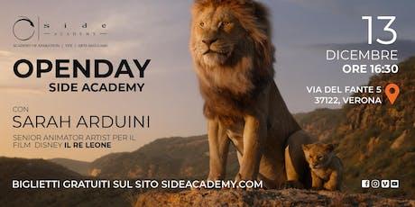 Side Academy Openday 13 dicembre ore 16:30 biglietti