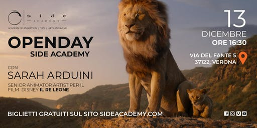 Side Academy Openday 13 dicembre ore 16:30