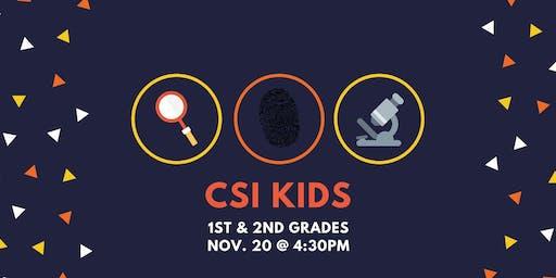 CSI Kids [1st-2nd]