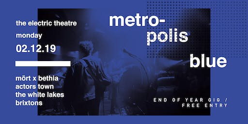 Metropolis Blue End of Year Party