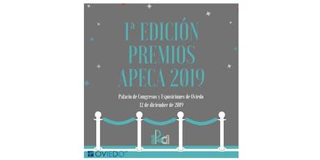Premios APECA 2019 entradas