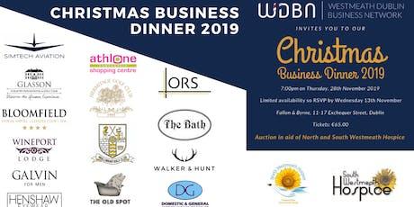Westmeath Dublin Business Network –  Charity Christmas Dinner tickets