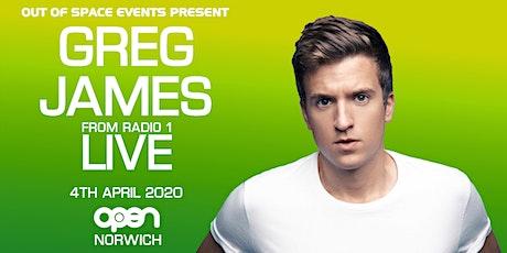 Greg James Live **Postponed** tickets
