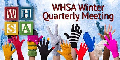 WHSA 2020 Winter Quarterly