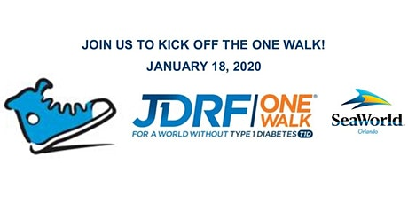 JDRF One Walk Family Rally at SeaWorld! tickets