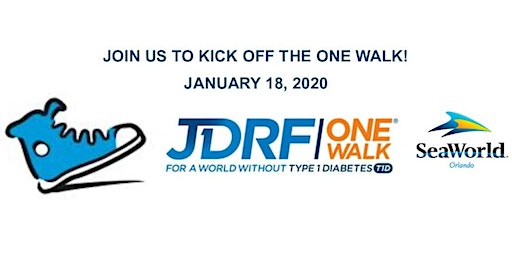 JDRF One Walk Family Rally at SeaWorld!