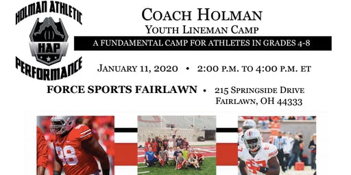 Coach Holman's Youth Lineman Camp