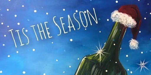 Christmas-themed Paint & Sip