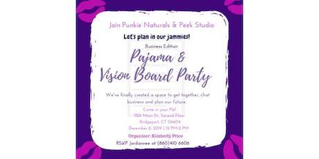 Pajama & Vision Board Party tickets