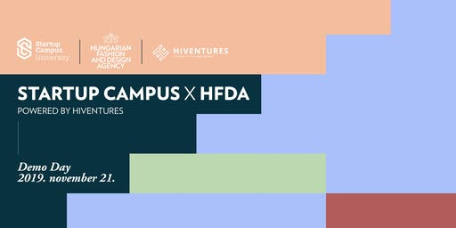 Startup Campus x HFDA  powered by Hiventures | Demo Day