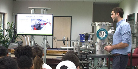 High Vacuum Demonstration and Tour-2/6/2020 tickets