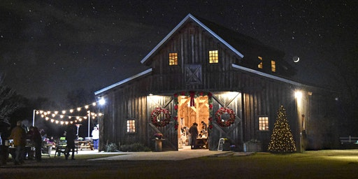 Country Christmas at BarnHill Vineyards.  Music by Big Little Town band!  Large cheese table included.