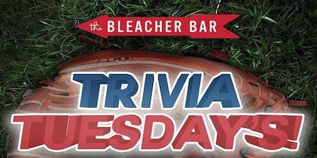 #TriviaTuesdays at Bleacher Bar! tickets