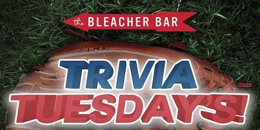 #TriviaTuesdays at Bleacher Bar!